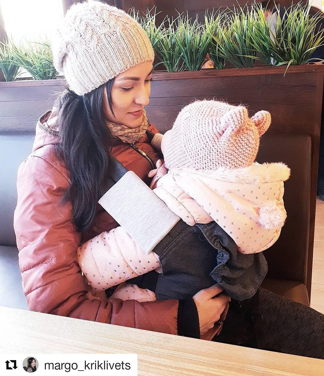 Не вредно ли носить ребенка в слинге?