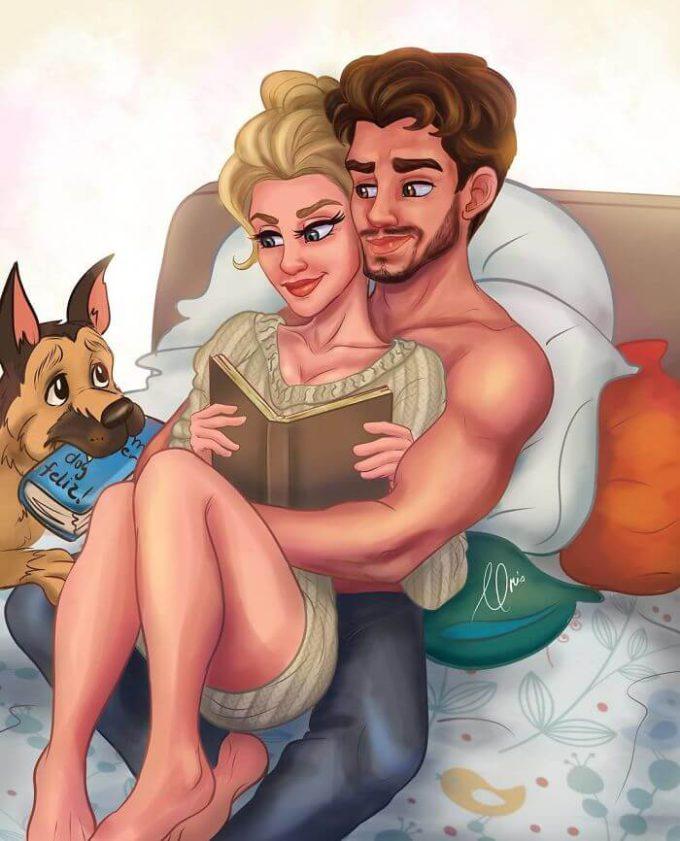 19 честных иллюстраций о том, как любовь меняется с годами. Тепло, нежно, смешно!