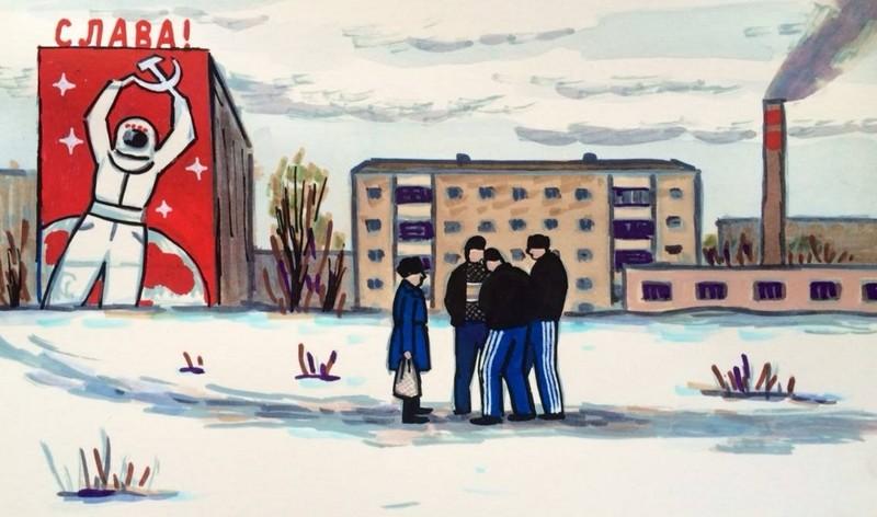 Эти 25 рисунков с головой окунут вас в советское детство. Было круто!