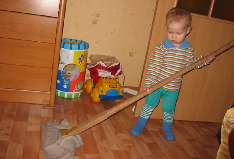 20 забавных малышей, чье трудолюбие даже пугает. Но это чертовски мило!