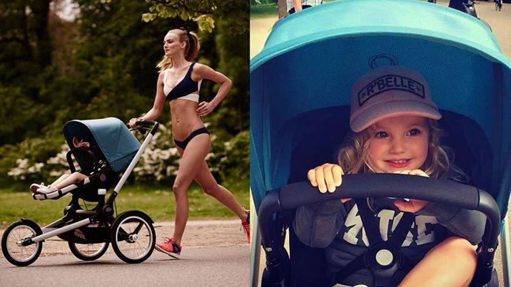 Стройная модель в рекламе коляски возмутила молодых мам. И не зря!