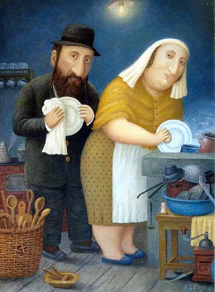 Почему у евреев национальность определяется не по отцу, а по матери