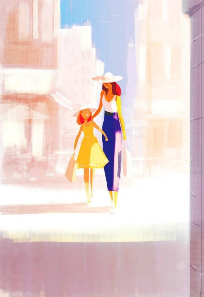 25 картинок о том, насколько сильно мамы любят своих детей