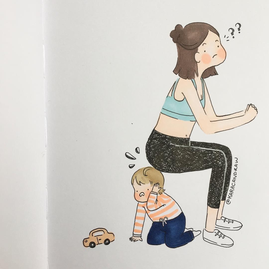 12 иллюстраций о материнстве, которые растрогают вас до глубины души. И не только!