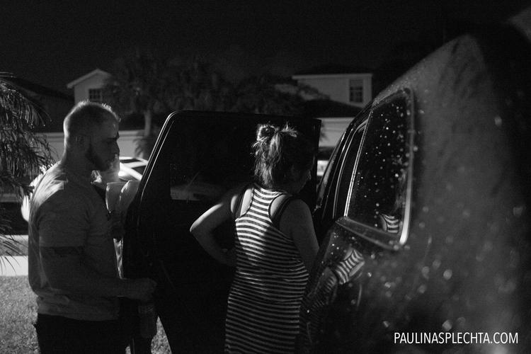 Фотограф сняла, как американка родила в машине. Так и не доехав до роддома!