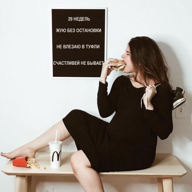 Не верьте идеальным фото из соцсетей!: мама показала, каково это — быть беременной