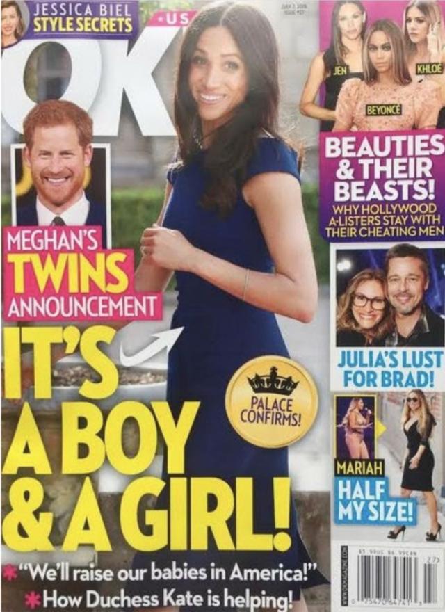 Свершилось! Меган Маркл и принц Гарри ждут двойню