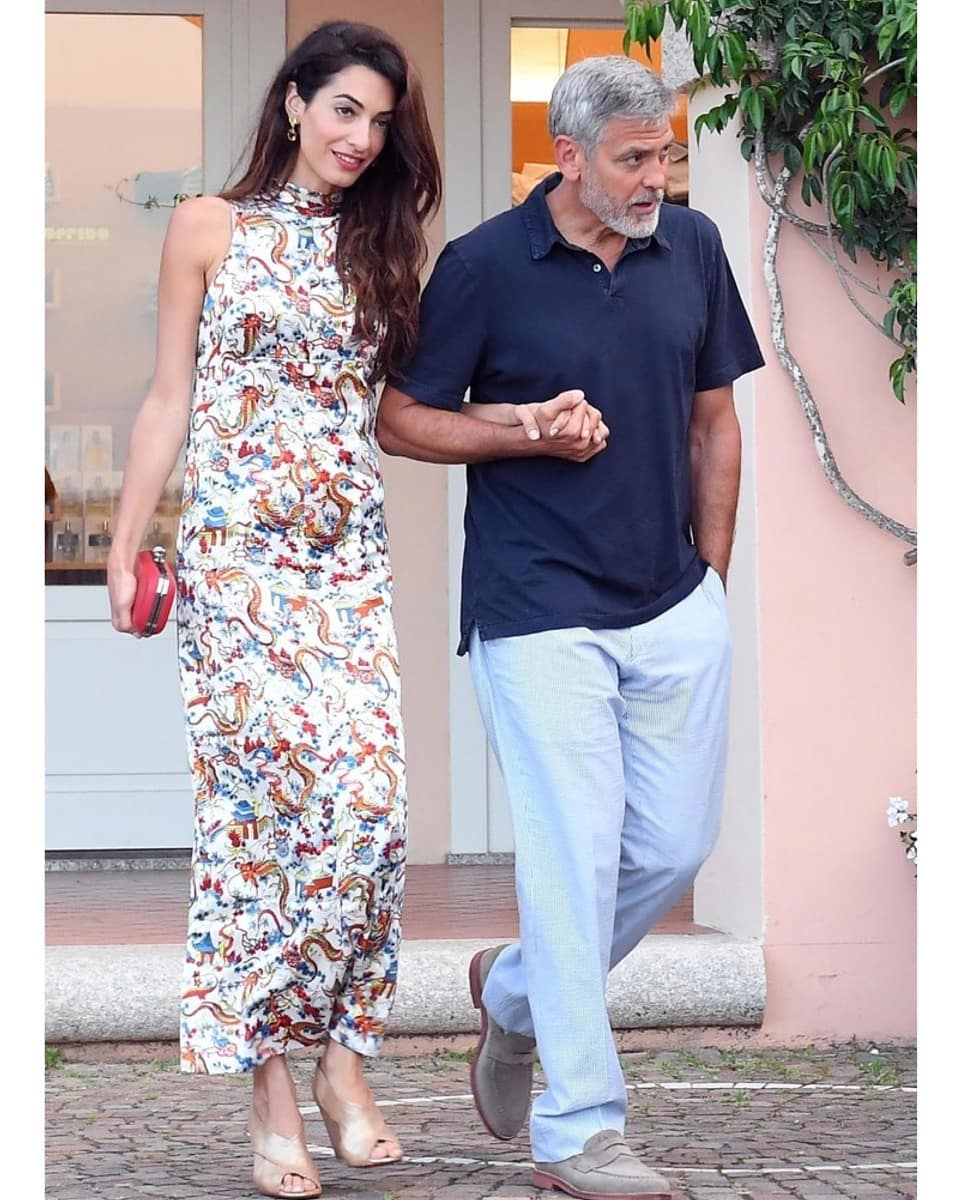 Амаль Клуни снова беременна — в интернет попали весьма «неоднозначные» фото