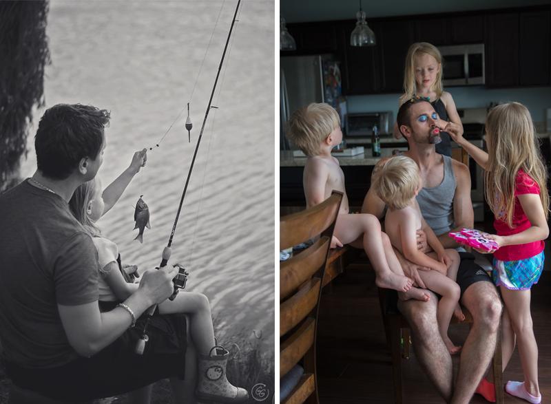 Забота, любовь и бесконечное веселье – вся суть отцовства в трогательном фотопроекте