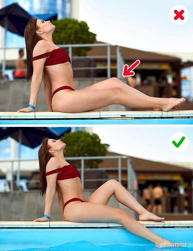 Как выглядеть идеально на пляжных фото: 10 хитростей даже с неидеальной фигурой