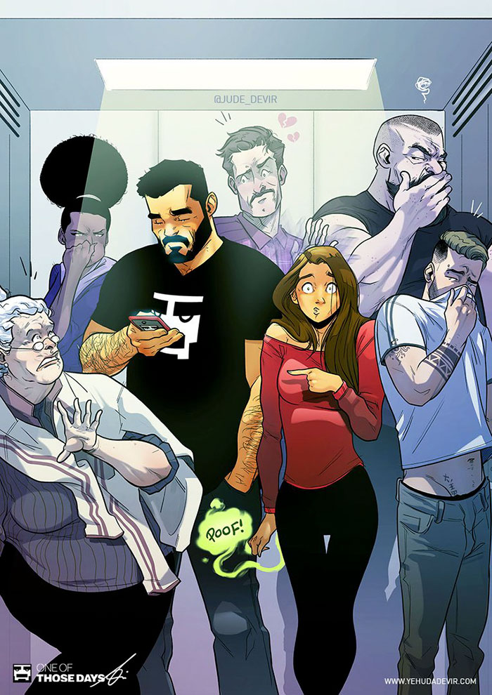 Каково это — жить с женщиной: 20 смешных комиксов от художника из Тель-Авива