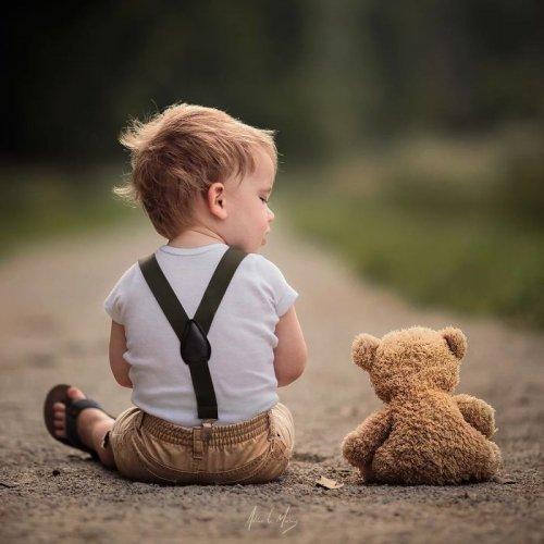 Этот папа делает настолько милые фото детей, что они тронут за душу каждого