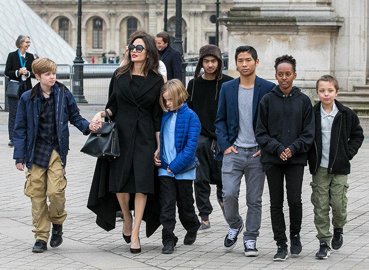 Вот молодец: Анджелина Джоли планирует стать мамой в 7-й раз