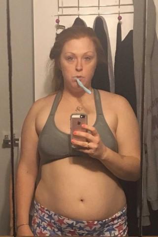 мать 2-х детей похудела, когда начала пить воду