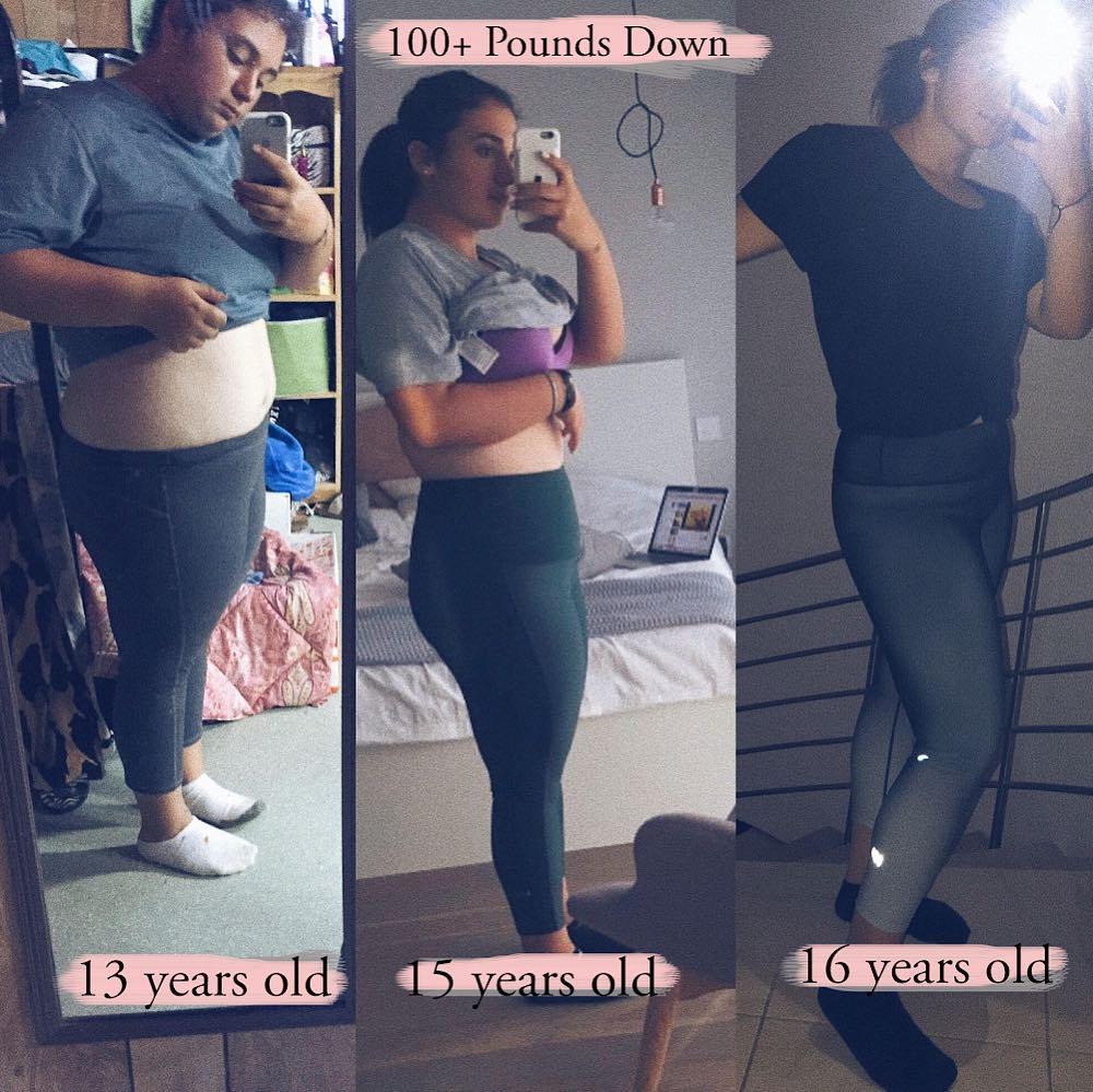 Мне надоело терпеть насмешки: 16-летняя американка — о том, как сбросила 50 кг