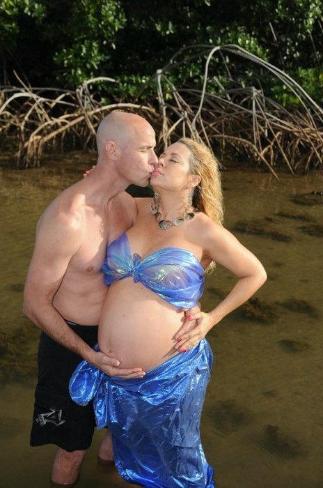 Вы вряд ли поймете эти 10 странных снимков во время беременной фотосессии