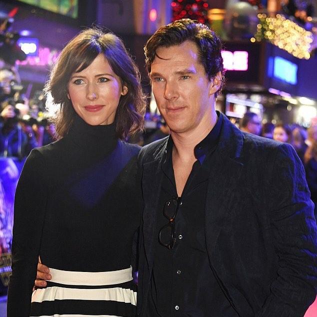 Звезда Шерлока Бенедикт Камбербэтч станет папой в 3-й раз