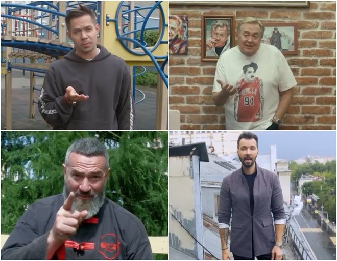 Трогательно: Клявер, Меладзе, Галкин и другие звездные папы в клипе об отцах и детях