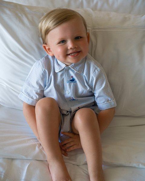 Мальчик с ангельским личиком признан самым красивым ребенком
