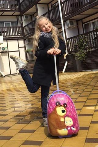 Вот как выглядит реальная девочка из мультика Маша и Медведь