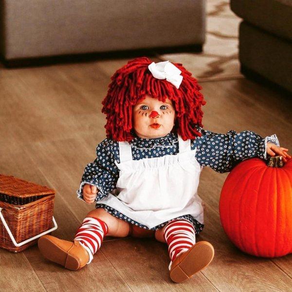 Эти 10 ужасно милых малышей в костюмах на Хэллоуин поднимут настроение кому угодно