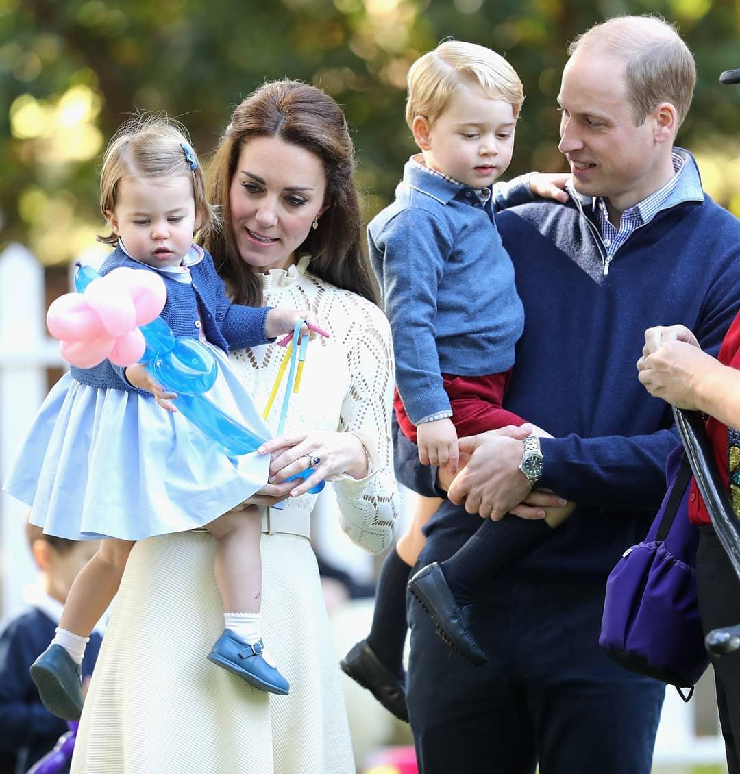 Кейт Миддлтон рассказала о странном увлечении своих детей