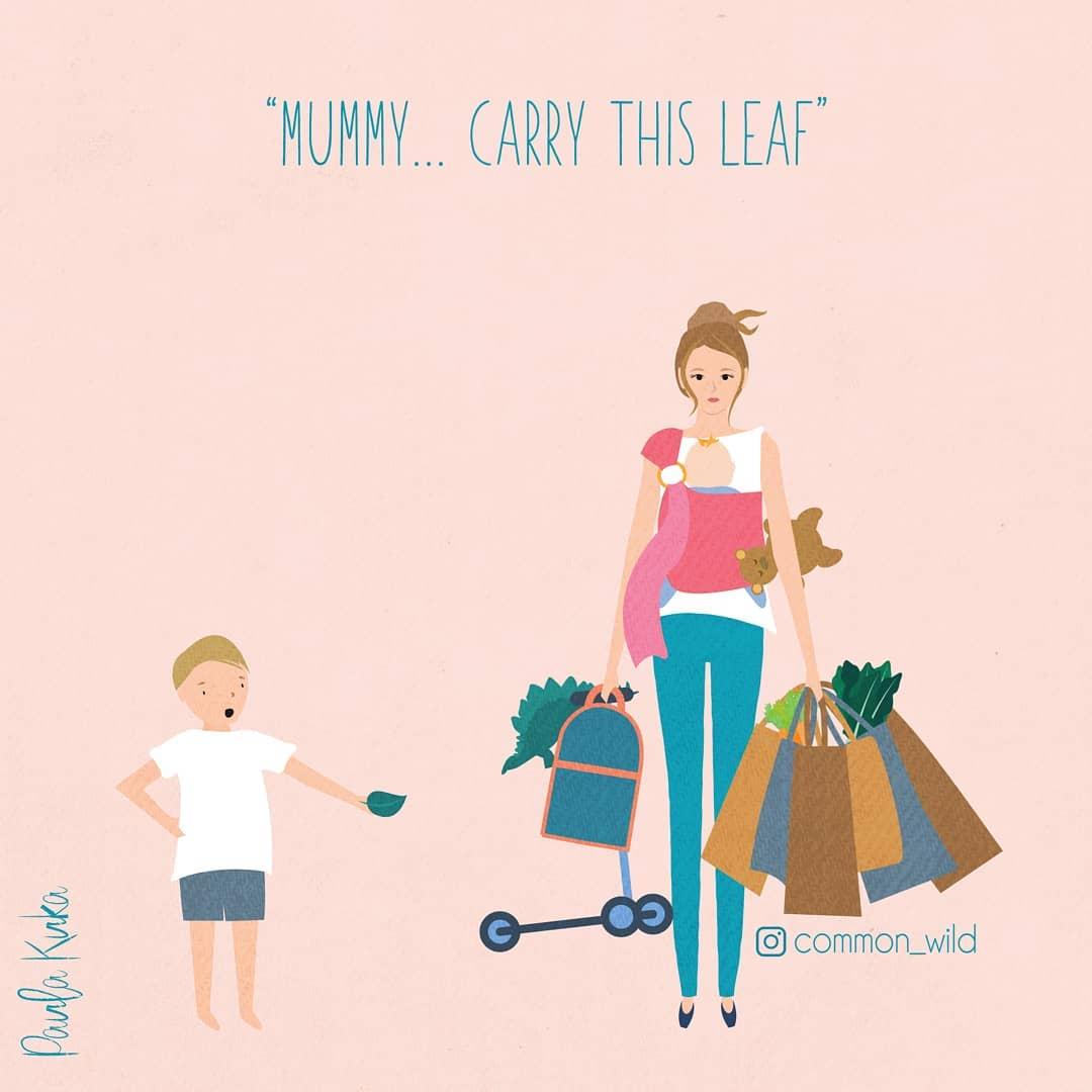 Так проходят мои дни: мама в комиксах показала все сложности и радости материнства