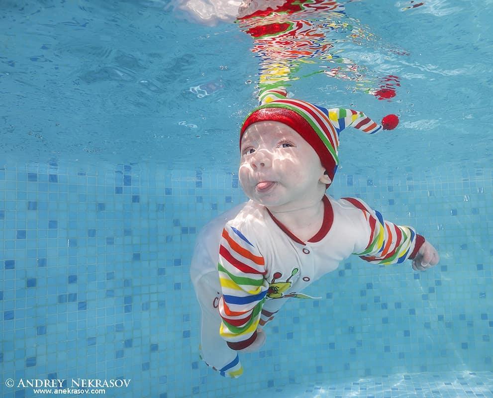 Эти 10 младенцев под водой чувствуют себя лучше, чем на суше